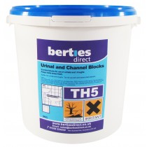 Berties TH5 Urinal & Channel Blocks
