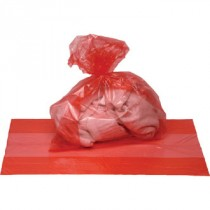 """Berties Laundry Bag Soluble Strip Red 18x28x30"""""""