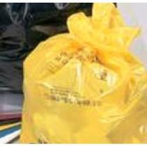 "Berties Heavy Duty Refuse Sack Yellow 18x29x39"""