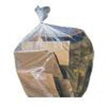 """Berties Medium Duty Refuse Sack Clear 29.5""""x33"""""""