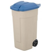 Berties Lid for Mobile Container Blue