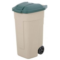 Berties Lid for Mobile Container Green