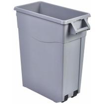 {Berties Slim Recycling Bin Grey 65L}