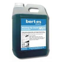 Berties WU1 Washing Up Liquid Concentrated
