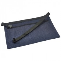 Genware Unwashed Denim Money Pocket Apron 44x30cm