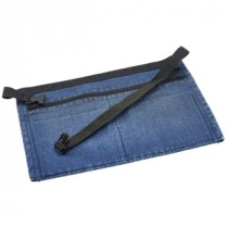 Genware Washed Denim Money Pocket Apron 44x30cm