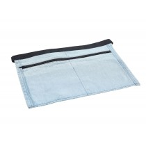 Genware Denim Money Pocket Apron Light Blue 44x30cm