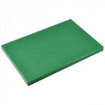 Genware Green Chopping Board 450x300x25mm