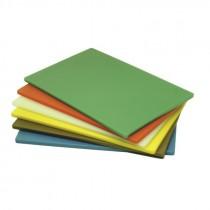 Genware Brown High Density Chopping Board 600x450x18mm