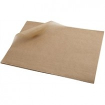 Berties Greaseproof Paper Brown 25x35cm (1000 Sheets)