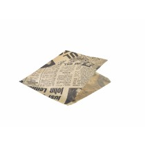 Genware Brown Newsprint Wraps 17.5cm (1000 Sheets)