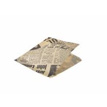 {Genware Brown Newsprint Wraps 17.5cm (1000 Sheets)}