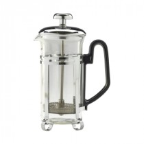 Genware Glass Chrome Finish Cafetiere 3 Cup
