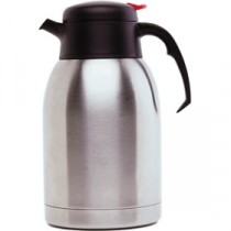 Genware Push Button Vacuum Jug 1.2L