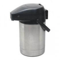 Genware Pump Pot Vacuum Jug 3.0L
