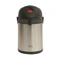 Genware Inscribed Pump Pot Vacuum Jug 2.5L Tea