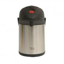 Genware Inscribed Pump Pot Vacuum Jug 2.5L Tea