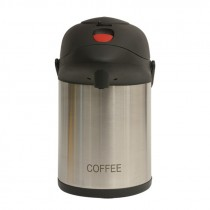 Genware Inscribed Pump Pot Vacuum Jug 2.5L Coffee