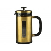 {La Cafetiere Brushed Gold Pisa Cafetiere 1000ml}