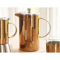 La Cafetiere Copper Double Walled Cafetiere 1000ml