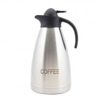 Genware Coffee Inscribed Contemporary Vacuum Jug 2.0L