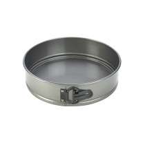Genware Carbon Steel Non-Stick Spring Form Cake Tin 11""