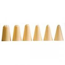 Berties Nylon Piping Tube Set - Star Tip 6 piece