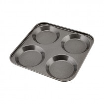 Genware Non Stick Yorkshire Pudding Tray 4 Cup