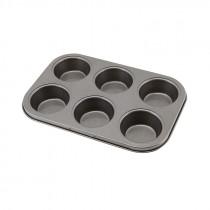 Genware Non Stick Muffin Tray 6 Cup