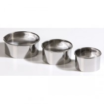 Berties Pastry Cutters Plain 3 piece set