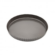 Genware Non Stick Fluted Quiche Tin Loose Base 29cm