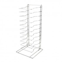 Genware Pizza Pan Rack - Stand 11 Shelf