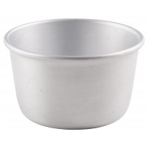 {Genware Aluminium Pudding Basin 180ml}