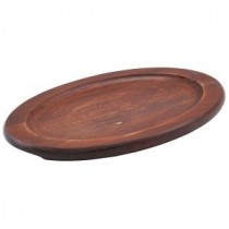 "Genware Spare Wood Trivet for 12""  Sizzle Platter"