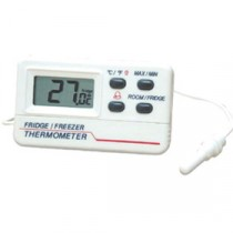 Genware Digital Fridge Freezer Thermometer -50 to +70 deg C