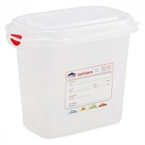 Berties Gastronorm Storage Box 1/9 150mm Deep 1.5L