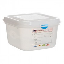 Berties Gastronorm Storage Box 1/6 100mm Deep 1.7L