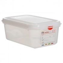 Berties Gastronorm Storage Box 1/4 100mm Deep 2.8L