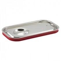 Genware Stainless Steel Gastronorm Sealing Pan Lid 1/3