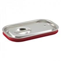 Genware Stainless Steel Gastronorm Sealing Pan Lid 1/4