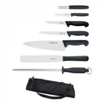 Giesser Knife Set 7 piece & Case
