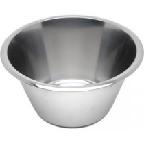 Genware Stainless Steel Swedish Mixing Bowl 1 Litre