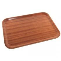 Genware Dark Wood Tray 360x280mm