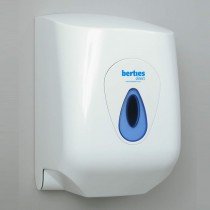 Berties Modular Centre Pull Roll Dispenser Large White
