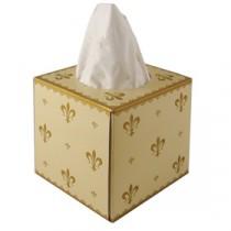 Berties Fleur de Lys Cubed Facial Tissues 3 ply
