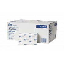Berties Z-Fold Premium Hand Towels White