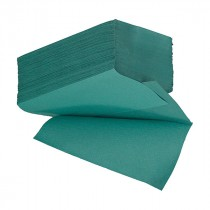 Berties Interfold Standard Hand Towels 1 ply Green