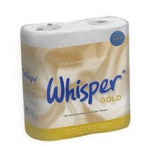 Whisper Gold Quilted Toilet Tissue 3 ply