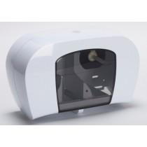 Berties Coreless Twin Roll Dispenser White
