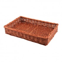Genware Wicker Display Basket 46x30x8cm